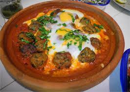 cuisine marocaine tajine kefta tajine de viande hachée aux oeufs