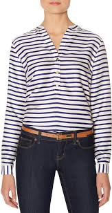 striped blouse the limited striped henley blouse where to buy how to wear