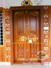 Front Double Door Designs In Kerala Style