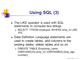 sql compare two tables basics of jdbc session ppt video online download