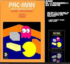 pac man atari box art cover by soniciscool
