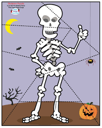 Halloween Skeleton Dance Conversational Calaveras 5 Dem Bones Dance U0026 Artivities Daily