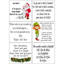 peel off funny christmas quotes 2 sticky verses for cards and crafts