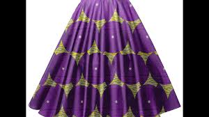 how to cutting and stitching umbrella skirt or circle skirt