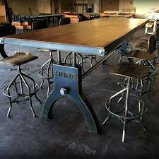 industrial kitchen table furniture dining table reclaimed dining table kitchen tables industrial
