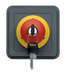key operated light switch wna032 hager grey 10 a panel mount key operated light switch 250