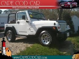 Car Dealerships On Cape Cod - 00 jeep wrangler sport cape cod used cars u0026 new england used car