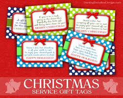 christmas service gift tags free printable tags for doing random