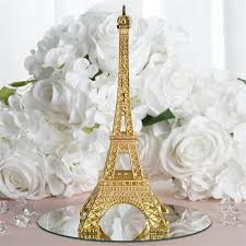 eiffel tower centerpieces inch gold eiffel tower centerpiece
