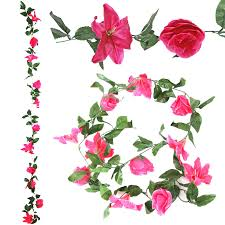 flower garland and flower garland artificial flowers vine