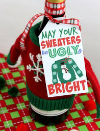 Christmas Sweater Party Ideas - ugly christmas sweater diy ornaments c r a f t