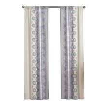 Curtain Pairs Shop Pairs To Go Mantra 63 In Blue Polyester Rod Pocket Light