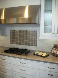 steel backsplash tiles stainless steel for modern kitchen image of