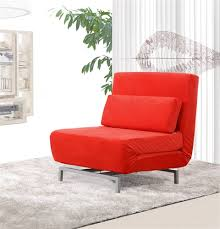 convertible sofas and chairs romano convertible sofa chair in red fabric