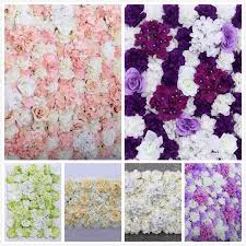 wedding backdrop uk artificial flower wall panel wedding background backdrop