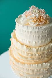 how to make a ruffle cake with crepe paper