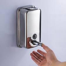 Aliexpresscom  Buy Stainless Steel Hand Soap Dispenser Ml - Bathroom liquid soap dispenser