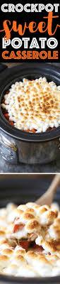 cooker sweet potato casserole damn delicious