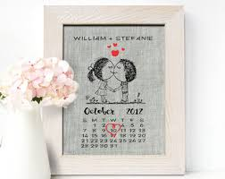 12 year anniversary gift for him linen anniversary etsy