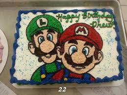 buttercream super mario brothers birthday cake beautiful cakes