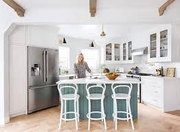 mid century modern kitchen appliances our modern english country kitchen emily henderson