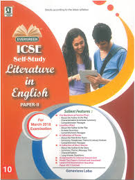 amazon in buy icse self study in english literature paper 2
