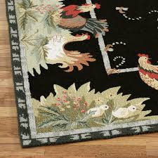 Rooster Runner Rug Rooster And Hens Area Rugs