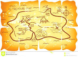 kids treasure map clipart collection
