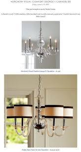pottery barn teen lighting horchow visual comfort george ii chandelier vs pottery barn teen s