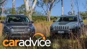 land rover jeep cars 2015 land rover discovery sport v jeep cherokee trailhawk review