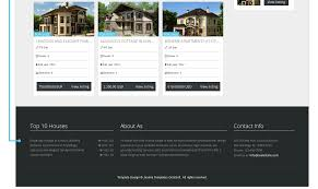Web Templates For Real Estate by Estate November Free Joomla Template