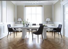 Modern Dining Table With Extension Tundra 79