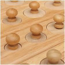 douille en bois 25p2 montessori educatif jouet en bois cylindre douille ebay