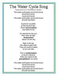 water cycle poem freebie kidsrcute free teacherspayteachers