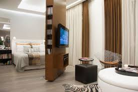 spinning l that projects pictures on the walls marvelous spinning wooden room divider design idea applied in tv on