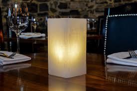square white wax candle holder set of 6 kgbdecor led