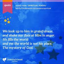 Poems For Comfort Spiritual Poems