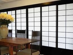 Shoji Sliding Closet Doors Cool Room Divider With Shoji Screen Ikea And Rectangular Wooden