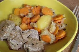 cuisiner les pruneaux filet mignon aux patates douces carottes et pruneaux recettes a