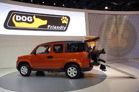 new york 2009 dog friendly honda element concept photo gallery