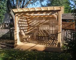 Building A Freestanding Pergola by Benefits Free Standing Wooden Pergola Garden Landscape