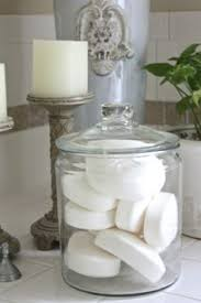 bathroom countertop decorating ideas glass canisters for bathroom storage again don t to be