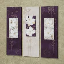 Bedroom Wall Canvases Garden Dance Floral Canvas Wall Art Set Wall Art Sets Canvas