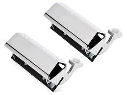 Chrome Exterior Door Handles Opr Mustang Chrome Exterior Door Handles Pair 94446 79 93 All