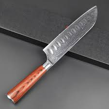 folded steel kitchen knives damascus steel santoku knife 7 inch shogun edition kitchen
