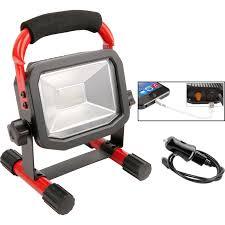 110v led work light luceco rechargeable led work light ip65 10w 750lm