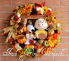 snoopy thanksgiving picture irish u0027s wreaths where the difference is in the details snoopy