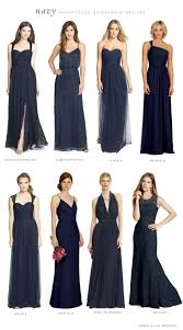 160 best navy blue bridesmaid dresses images on navy