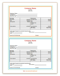 salary receipt template 100 salary sheet template in excel 18 payment schedule