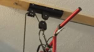 Racor Pbh 1r Ceiling Mounted Bike Lift by Bike Hoist Ceiling Mount Bike Hoist At Menards Bicycle Lift